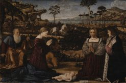 Holy Family and Donors | Vittore Carpaccio | Oil Painting
