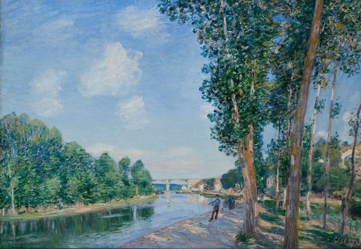 Saint-Mammes | Alfred Sisley | Oil Painting