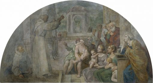 The Preachings of Saint Didac | Annibale Carracci | Oil Painting