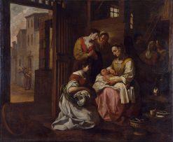 Birth of Saint Francis | Antoni Viladomat y Manalt | Oil Painting