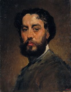 Self-Portrait | Antonio Caba y Casmitjana | Oil Painting