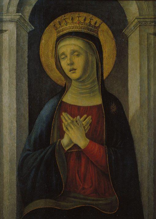 Mater Dolorosa   Baldassare d'Este   Oil Painting