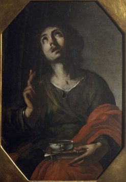 Saint John the Evangelist | Bernardo Cavallino | Oil Painting