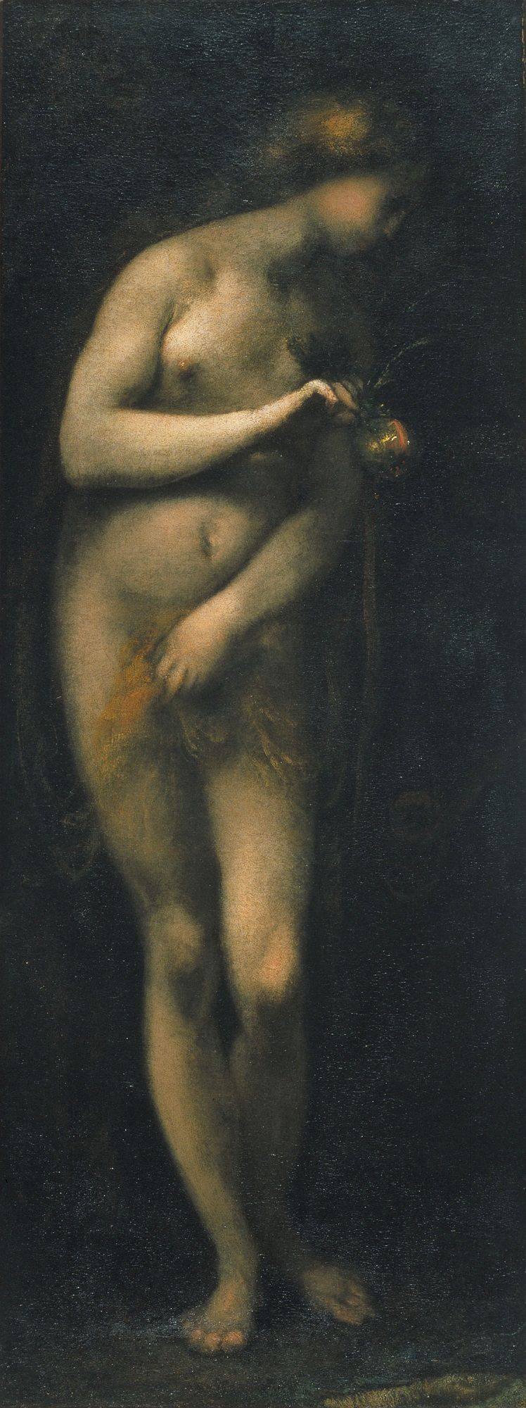 Temptation of Eve   Cecco Bravo   Oil Painting