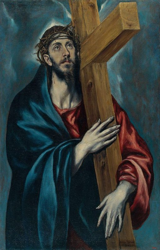 Christ with the Cross | El Greco | Oil Painting