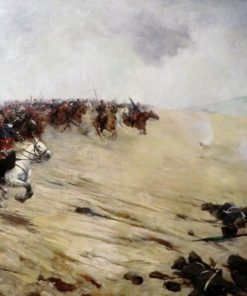 Cavalry Charge (Battle of Sedan) | Ernest Jean Delahaye | Oil Painting