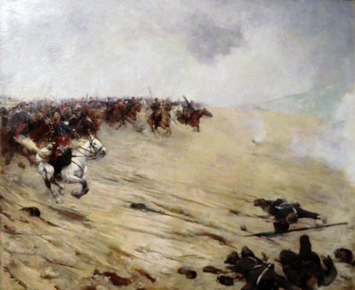 Cavalry Charge (Battle of Sedan) | Ernest Jean Delahaye | Oil Painting