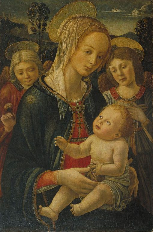 Madonna and Infant | Fra Filippo Lippi | Oil Painting
