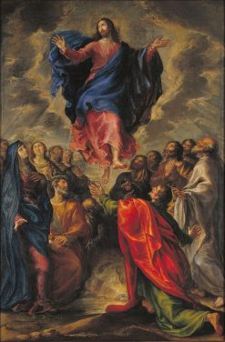 The Ascension | Francisco Camilo | Oil Painting