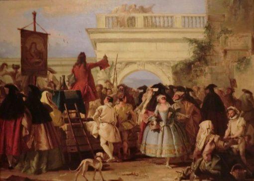 El xarlata | Giandomenico Tiepolo | Oil Painting