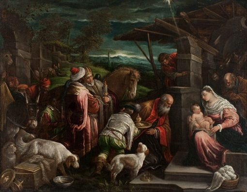 Adoration of the Magi | Jacopo Bassano | Oil Painting
