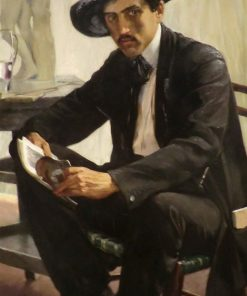 Portrait of the Art Critic and Writer Ramon Casellas | Luis Graner Y Arrufi | Oil Painting