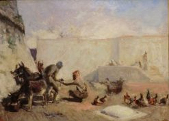 Moroccan Hoseshoer | Mariano Fortuny y Marsal | Oil Painting