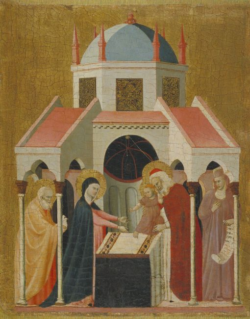 Presentation of Jesus at the Temple | Master of the Cini Madonna | Oil Painting