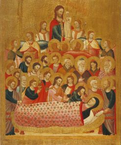 Dormition of the Virgin | Master of the Cini Madonna | Oil Painting