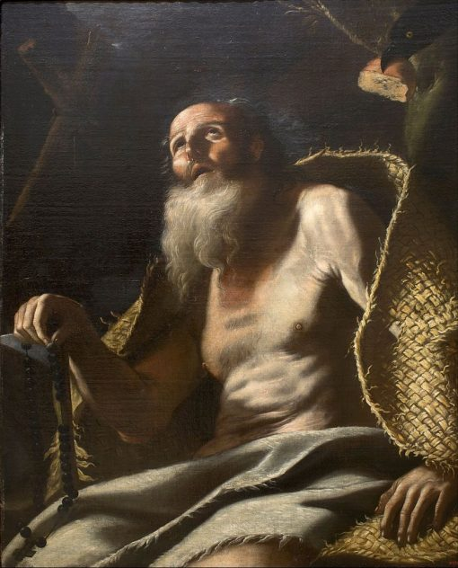 Saint Paul the Hermit   Mattia Preti   Oil Painting