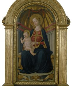 Virgin and Child on the Throne | Neri di Bicci | Oil Painting