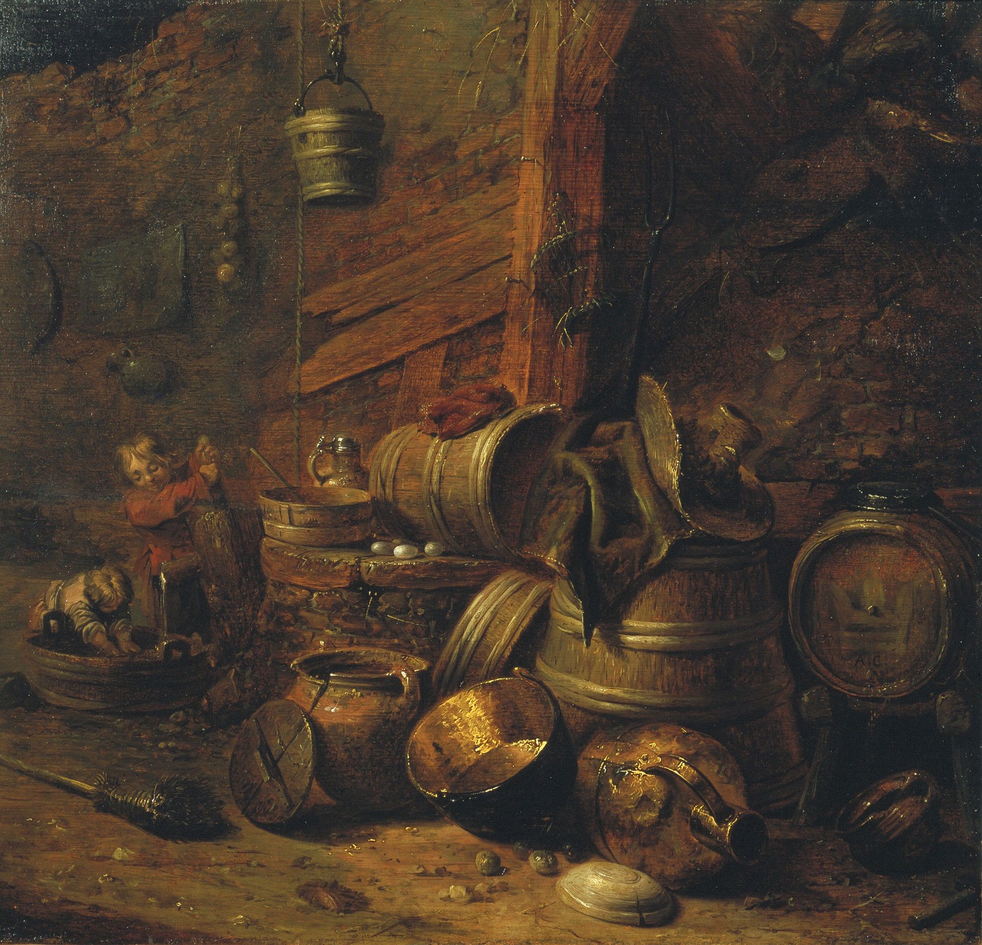 Cellar Interior | Pieter Quast | Oil Painting