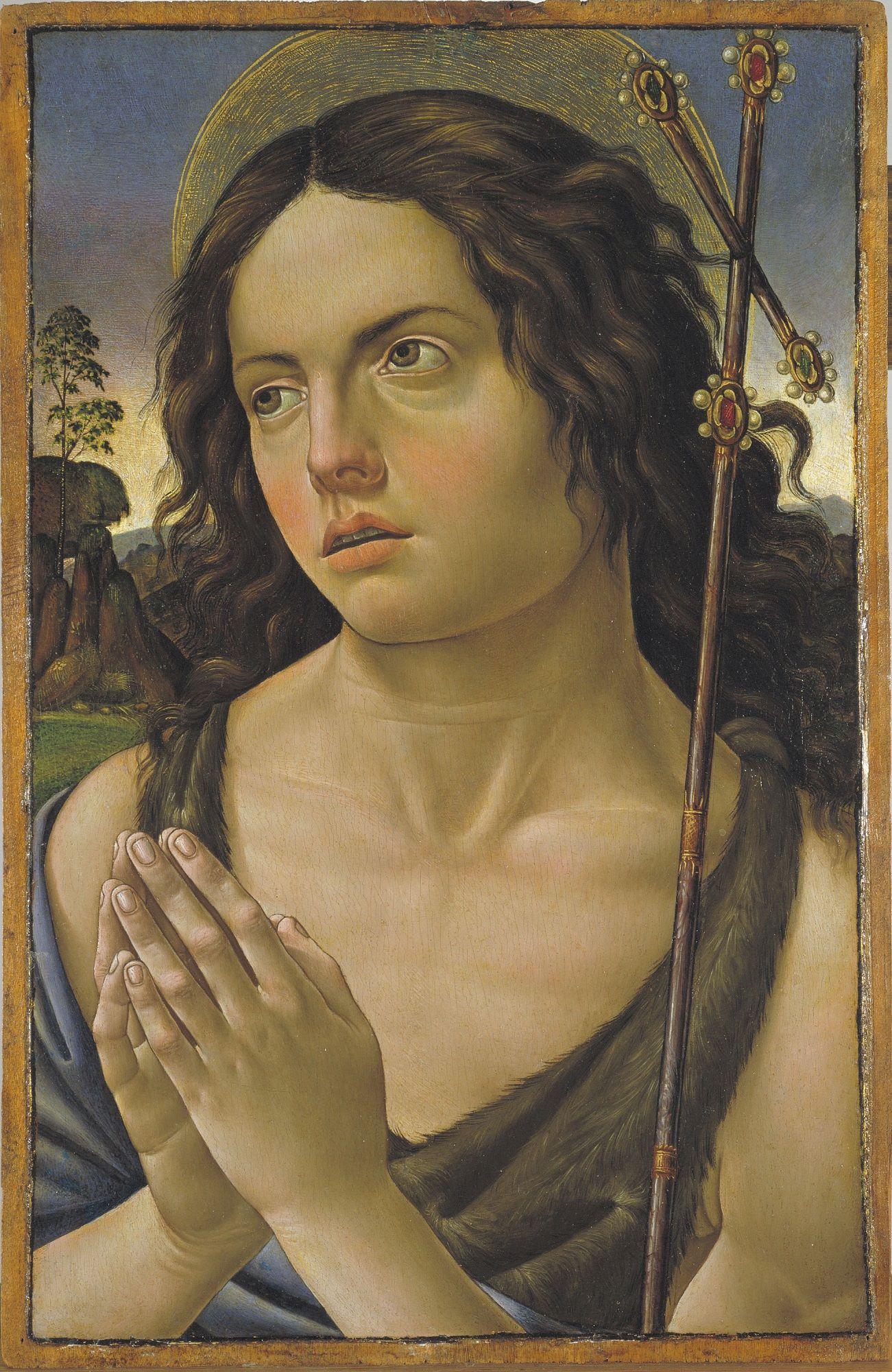 Saint John the Baptist | Raffaellino del Garbo | Oil Painting