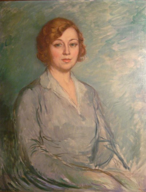 Portrait of Senyora Victòria Gonzalez   Ricardo Canals y Llambi   Oil Painting