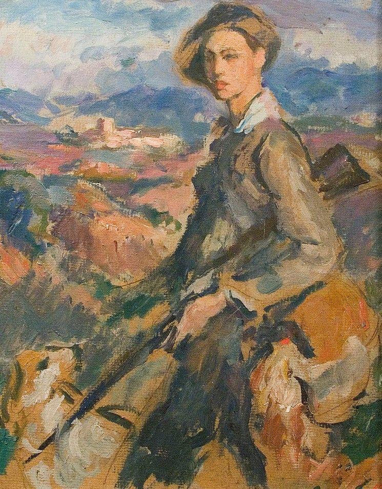 Portrait of Jove Cacador | Ricardo Canals y Llambi | Oil Painting