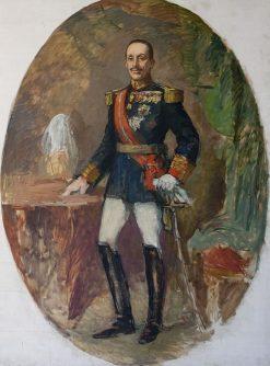 Portrait of Alfonso XIII de España | Ricardo Canals y Llambi | Oil Painting