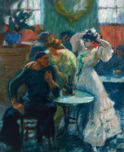 In the Bar | Ricardo Canals y Llambi | Oil Painting