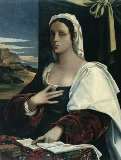 Vittoria Colonna ? | Sebastiano del Piombo | Oil Painting