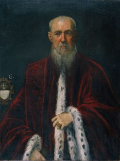 Portrait of Procurator Alessandro Gritti | Tintoretto | Oil Painting