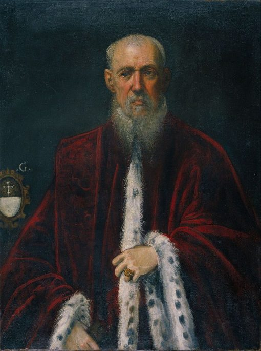 Portrait of Procurator Alessandro Gritti | Tintoretto | Oil Painting