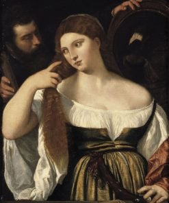 Girl before the Mirror | Titian | Oil Painting