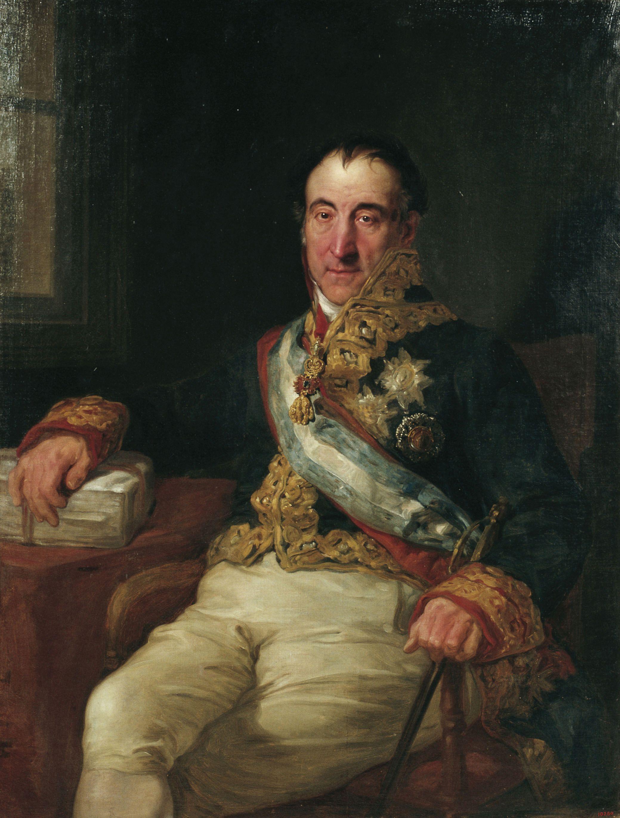 Portrait of Marques de Labrador