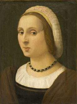 Portrait of a Lady | Vincenzo Tamagni | Oil Painting