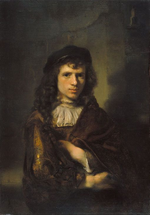 Portrait of a Young Man  | Willem Drost | Oil Painting
