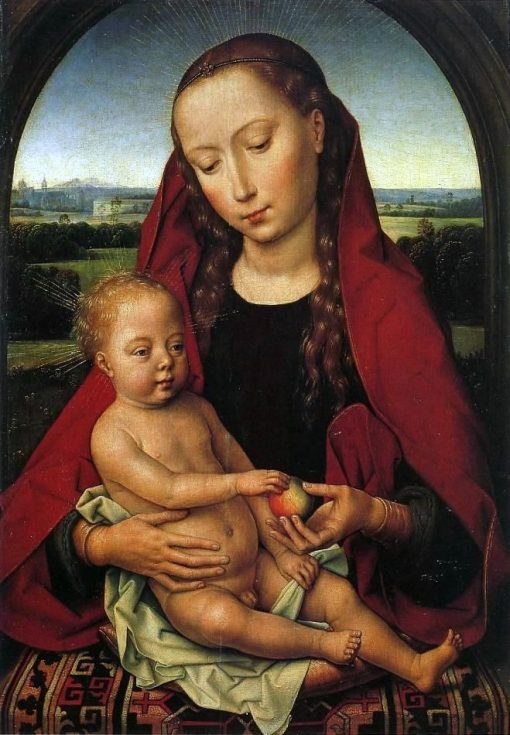 Madonna and Child | Hans Memling | Oil Painting
