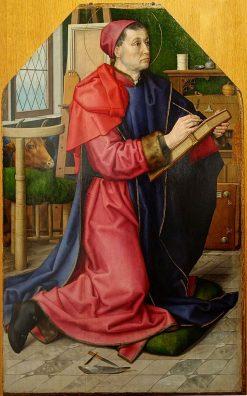 Saint Luke Portrays the Virgin | Hugo van der Goes | Oil Painting