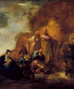 Moses at the Rock   Jacob Willemsz. de Wet   Oil Painting