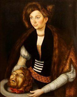 Salome with the Head of John the Baptist | Lucas Cranach the Elder | Oil Painting