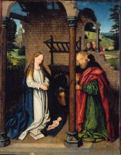 The Nativity | Unknown   Flemish School th Century | Oil Painting