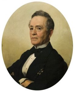 Portrait of Counselor Lopez Netto   Antonio Ciseri   Oil Painting