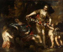 Rinaldo and Armida | Antonio Maria Vassallo | Oil Painting