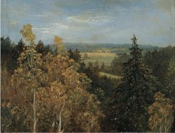 Wooded Landscape | Carl Gustav Carus | Oil Painting