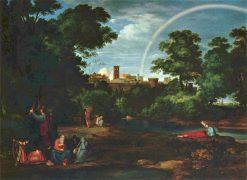 Jews in Babylonian Captivity | Johann Heinrich Ferdinand Olivier | Oil Painting