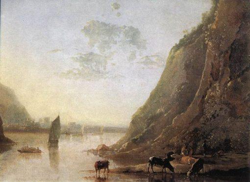 River Scene | Aelbert Cuyp | Oil Painting