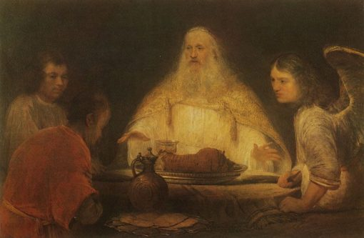 Abraham and the Angels | Aert de Gelder | Oil Painting
