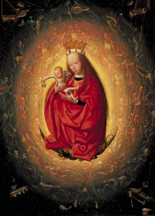 The Glorification of the Virgin | Geerten tot Sint Jans | Oil Painting