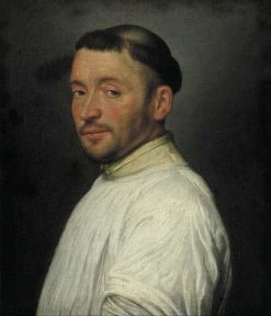 Portrait of a Camaldulense Friar | Giovanni Battista Moroni | Oil Painting