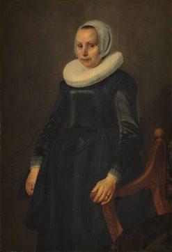 Portrait of a Woman | Jan Daeman Cool | Oil Painting
