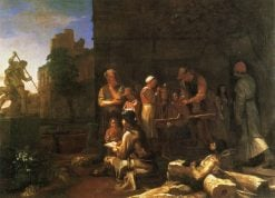 Roman Street Scene | Michiel Sweerts | Oil Painting
