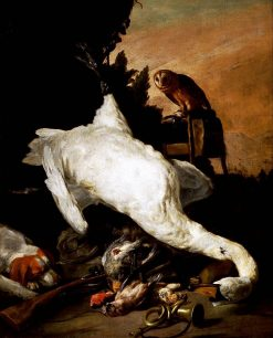 Hunting Still Life with a Swan | Pieter Boel | Oil Painting